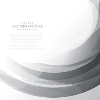 Gray wavy abstract background