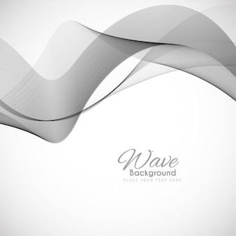Gray wavy background