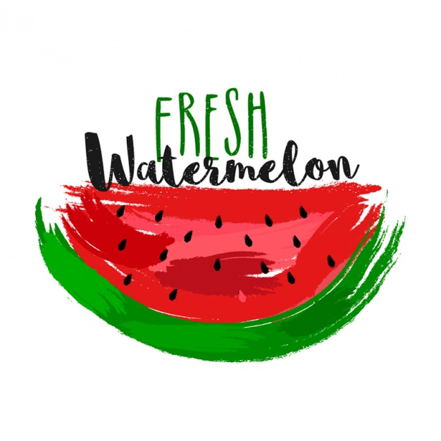 Great background of watermelon slice