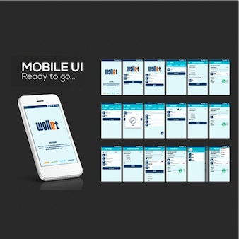 Great design of mobile app