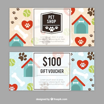 Great gift coupons with kennels