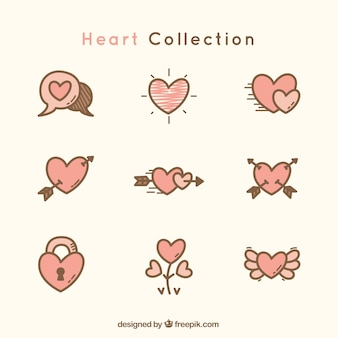 Great heart collection