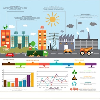 Great infographic of colorful city