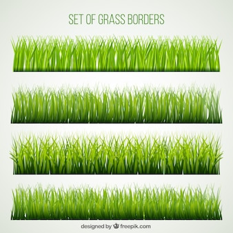 Great set of grass borders