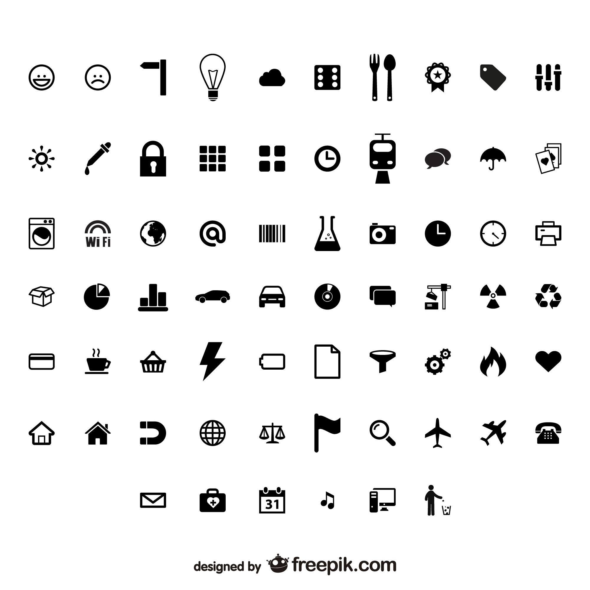 Signs And Symbols vectors, +9,000 free files in .AI, .EPS