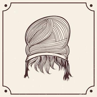 Greco Roman Hair Style