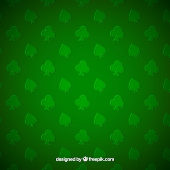 Green background of spades