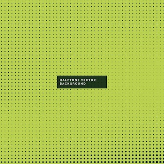 Green background with halftone dots