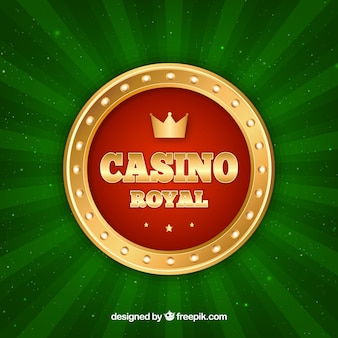 Green casino background
