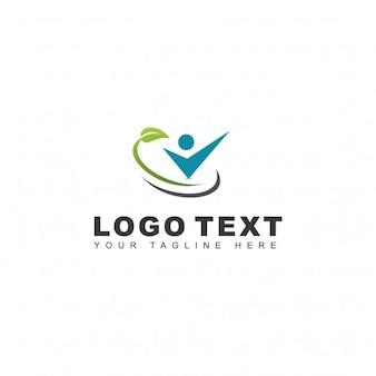 緑の選択ロゴ