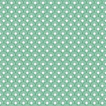 Green circular pattern