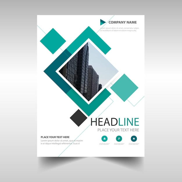 Green Commercial Annual Report Template