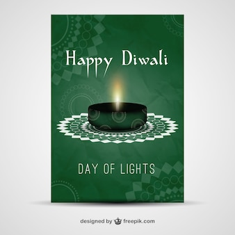 Green diwali flyer