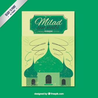 Green Milad un nabi poster