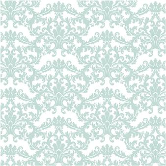 Green ornamental luxury pattern background