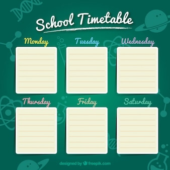 Green School Timetable