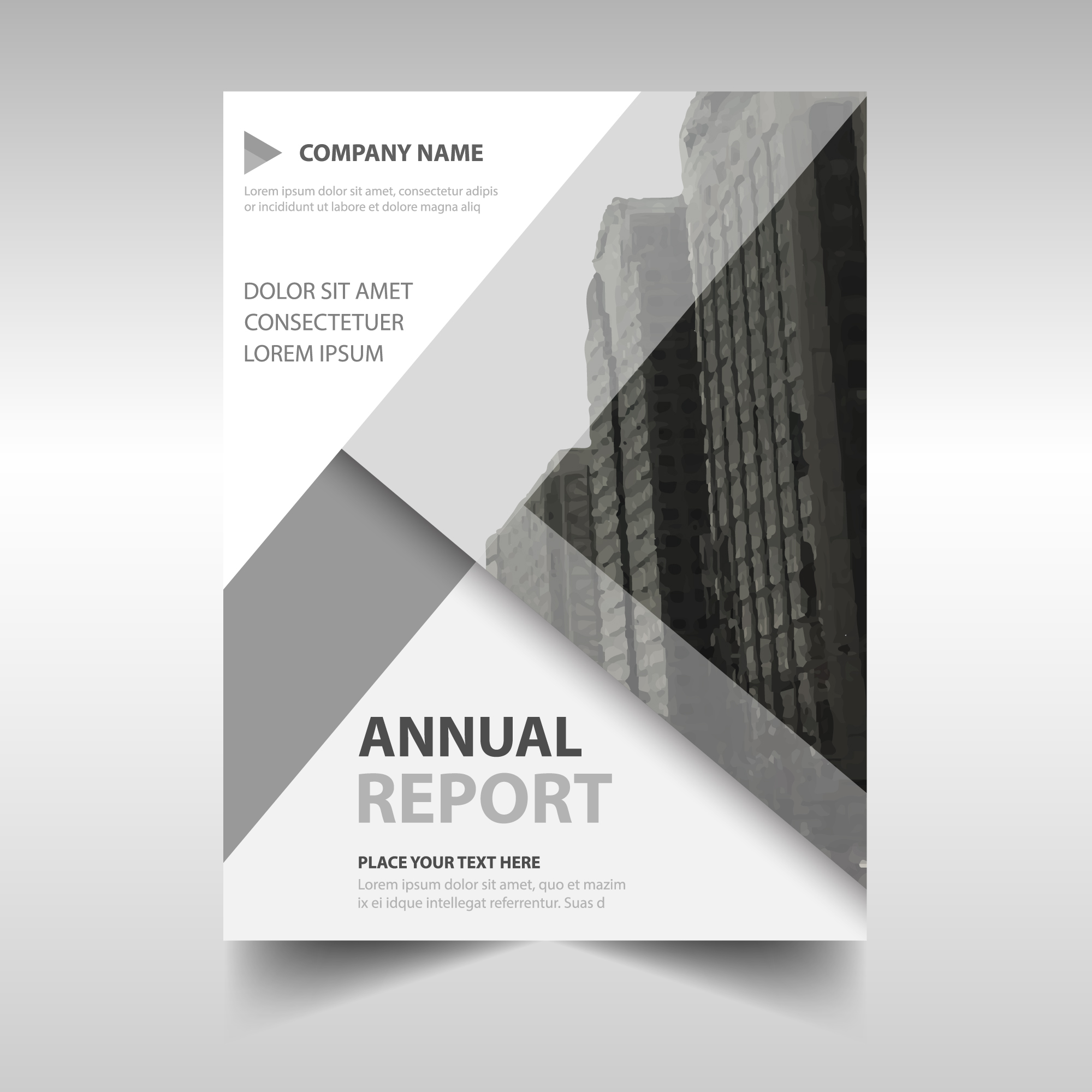 Grey annual report cover