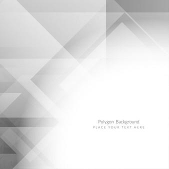Grey color polygon background design
