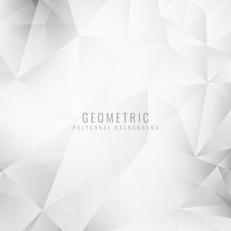 Grey polygonal geometric background