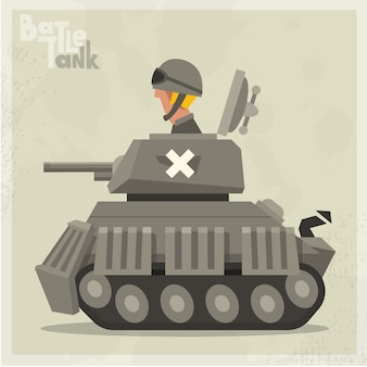 Grey tank background