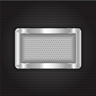 Grid Metallic Background
