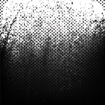 Grunge background with dots