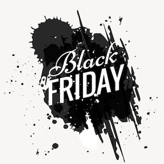 Grunge black friday background
