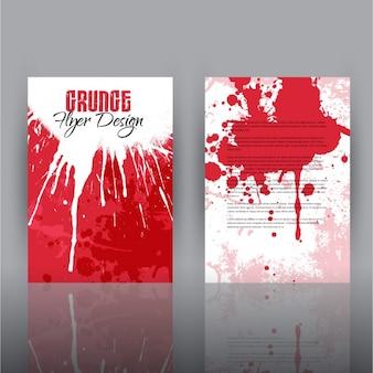 Grunge Flyer Design Template
