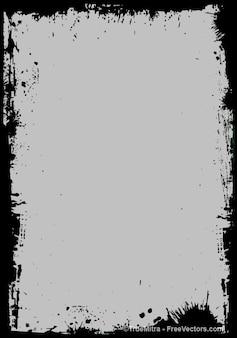 grunge frame backgrounds vector set