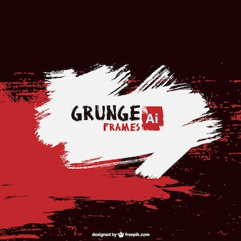 Grunge paint vector background