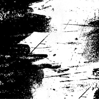 Grunge painting white and black background