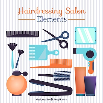 Cut vectors photos and psd files free download for 4 elements salon
