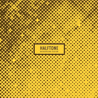 Halftone circles background