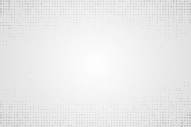 Halftone white background