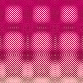 Halftoned pink dots background