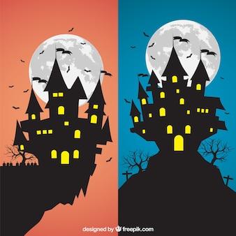 Halloween castles