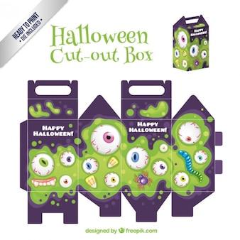 Halloween cut ot box