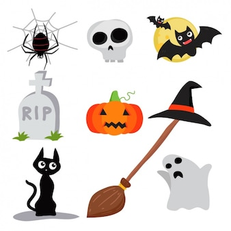 Halloween elements collection