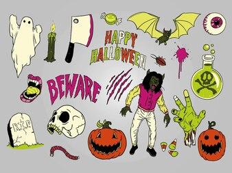 Halloween image pack