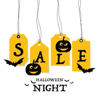 Halloween night sale tag collection
