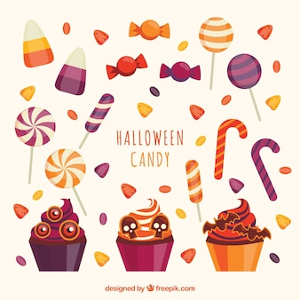 Halloween pack of lovely candies