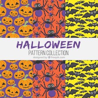 Хэллоуин с симпатичными персонажами