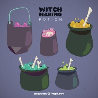 Коллекция зелья для Хэллоуина