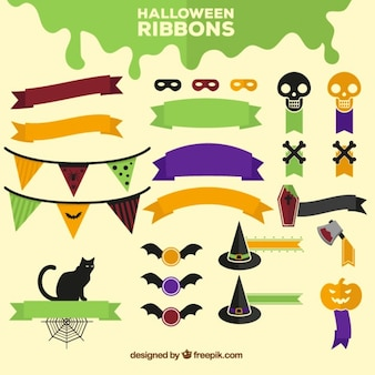 Halloween ribbons