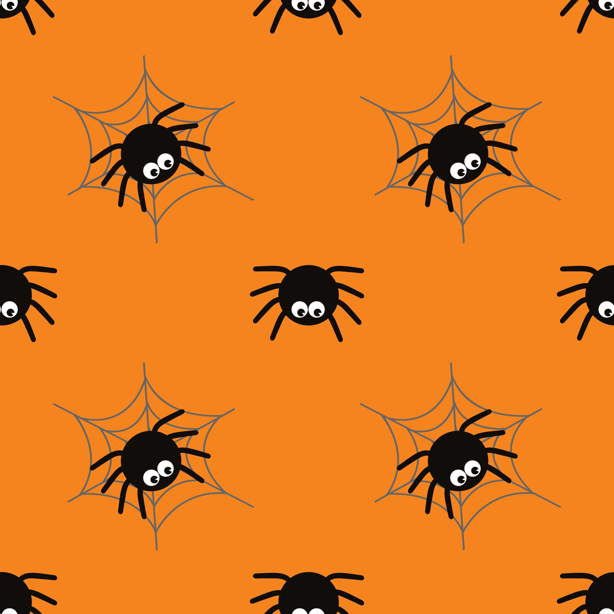 Halloween spider concept background for Halloween Party night