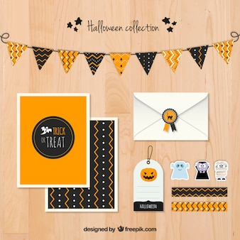 Halloween stationery collection