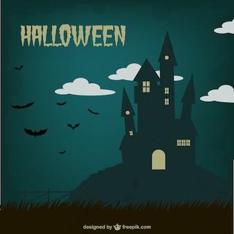 Halloween vintage background