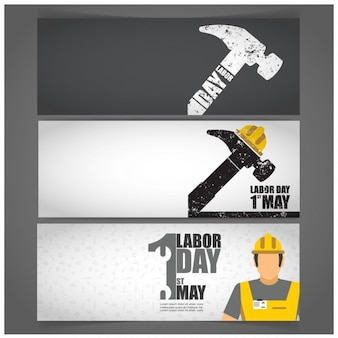 Hammer labor day banners
