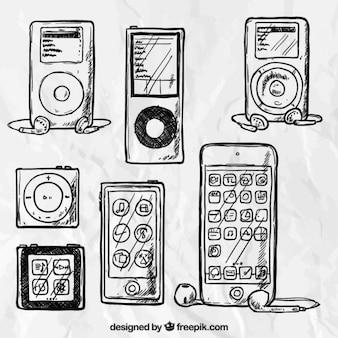 Hand apple gadgets