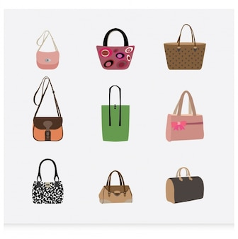 Hand bag collection
